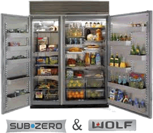 Subzero And Wolf Refrigerator Repair In Bowie Maryland And